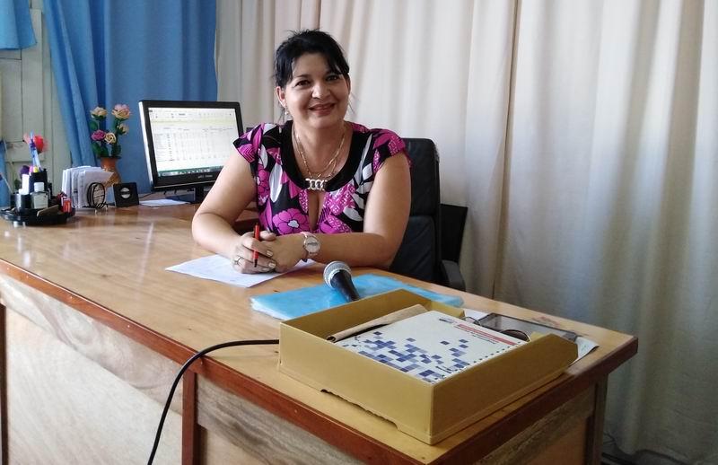 Ssubdirectora de empleo en la Dirección de Trabajo y Seguridad Social, Alina Hernández Martín.
