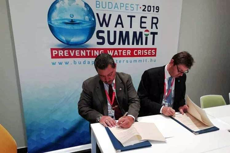 Rubrican Cuba y Austria acuerdo de cooperación en sector hidráulico