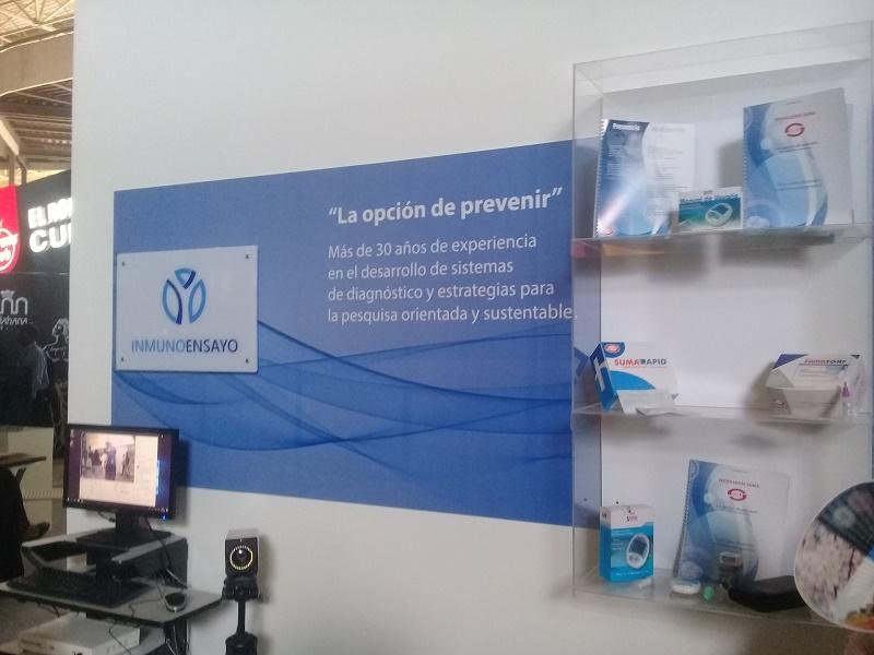 Centro de inmunoensayo expone sus productos en FIHAV 2019
