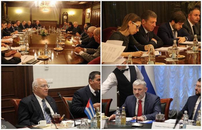 Refuerzan Cuba y Rusia cooperación económica