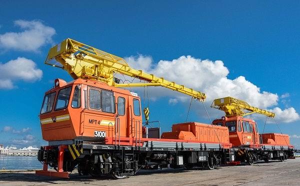 Adquiere Cuba equipos ferroviarios para el sector de la construcción