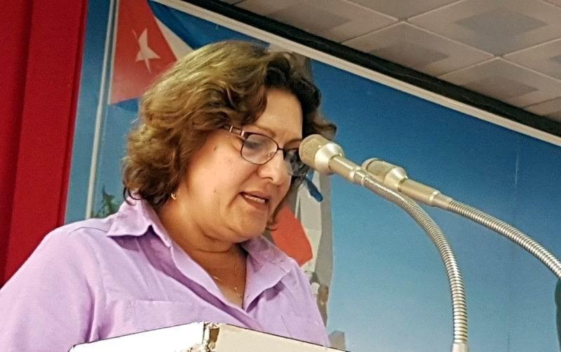 Directora nacional del Movimiento, Doctora Elizabeth Peña