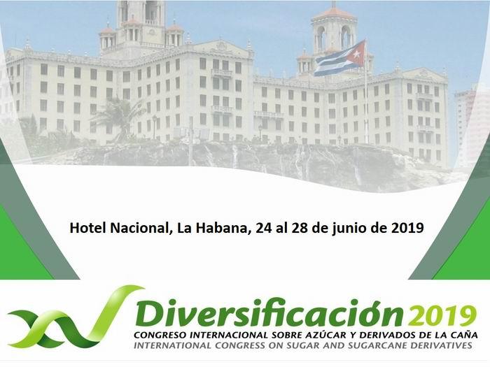 XV Congreso Internacional sobre Azúcar y Derivados (Diversificación 2019)