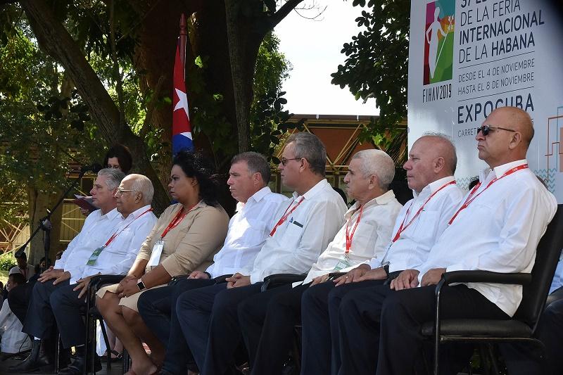 Inauguración en La Habana de FIHAV 2019