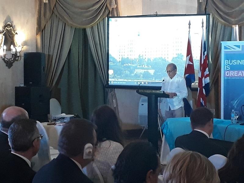 Re-launch of United Kingdom Cuba Initiative described as historic