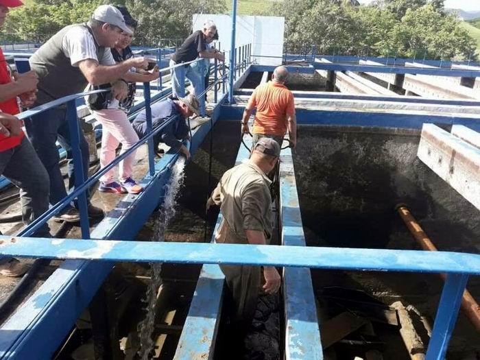 Gran inversión de recursos hidráulicos en Cienfuegos