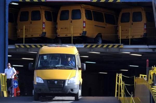 Llegan a Cuba primer lote ruso de medios automotores