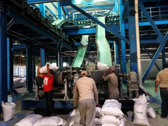 Produce fertilizantes Planta NPK de Cienfuegos