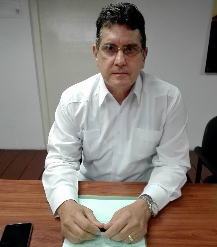 Viceministro Primero del Ministerio de Economía y Planificación René Hernández Castellanos