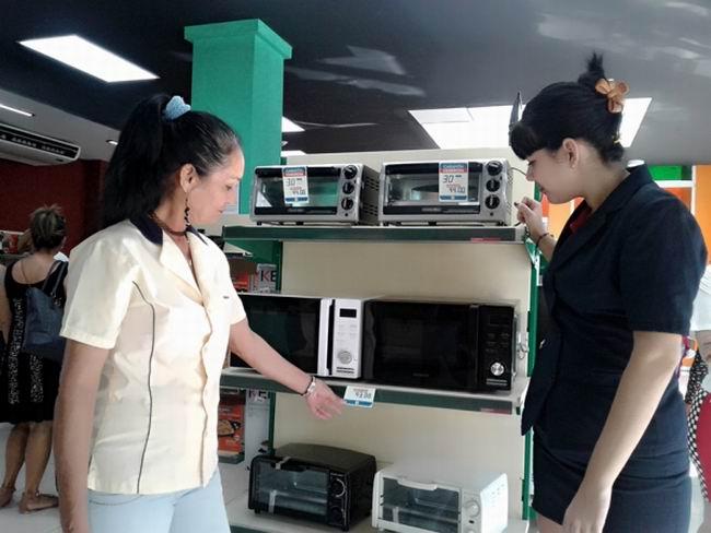 Treinta y cuatro Tiendas Caribe garantizan la venta en MLC
