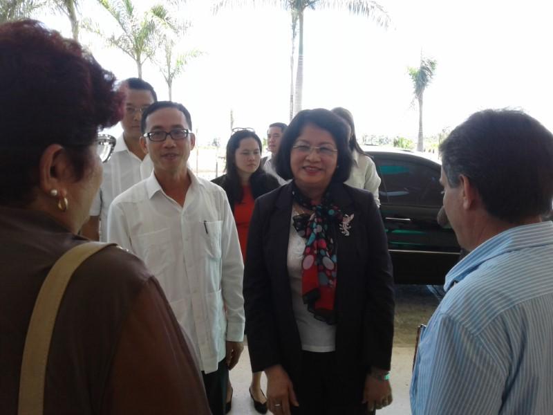 Vietnam muestra interés en la inversión en Cuba, reconoce vicepresidenta de la nación del sudeste asiático