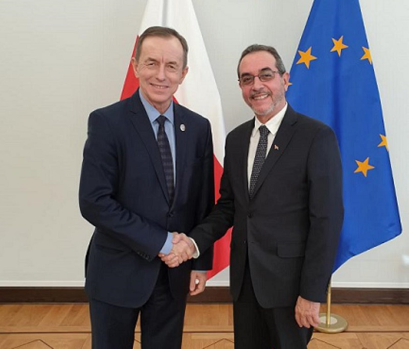 President of the Polish upper house receives Cuban ambassador