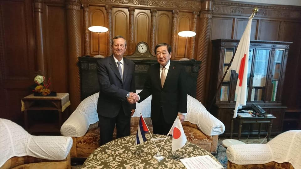 Japanese parliamentary leader reiterates friendship with Cuba
