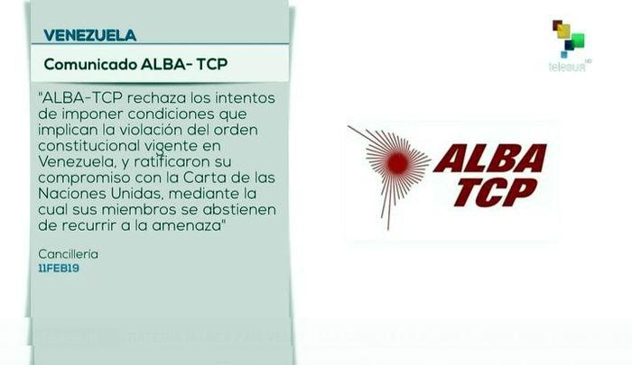 Respalda el ALBA-TCP el Mecanismo de Montevideo para Venezuela