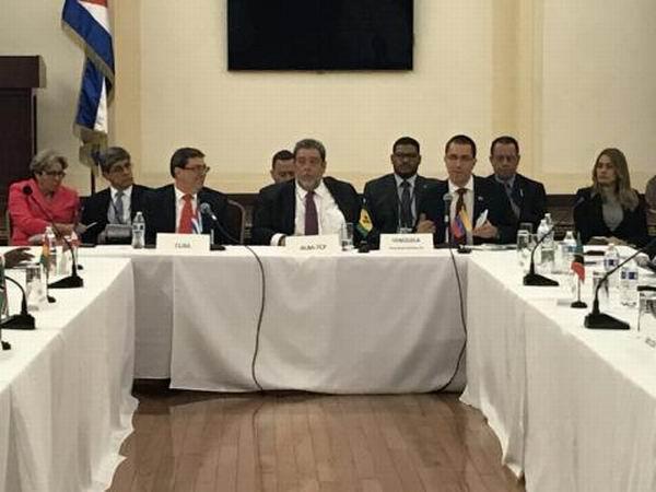 Rechaza Consejo Político del ALBA-TCP nuevas medidas de Estados Unidos contra Cuba