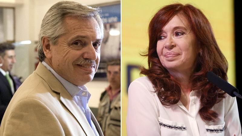 Crece apoyo a fórmula presidencial Alberto Fernández-Cristina Fernández