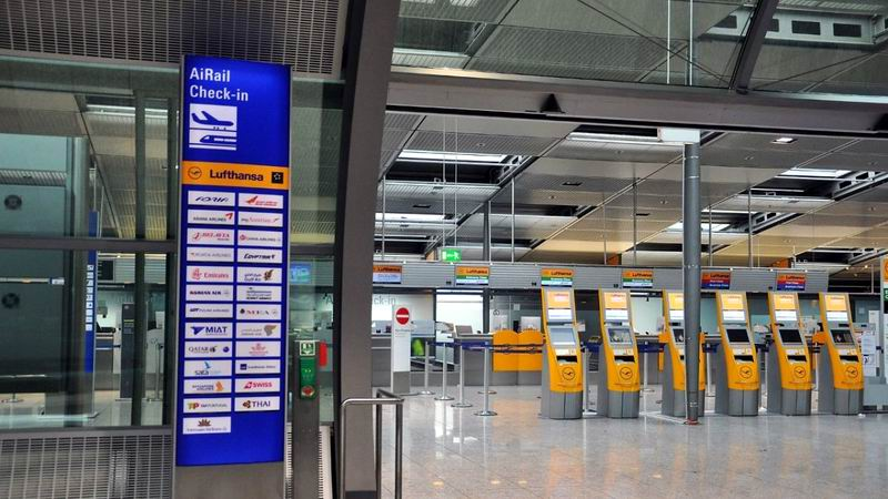 Huelga del personal de seguridad en aeropuertos de Alemania