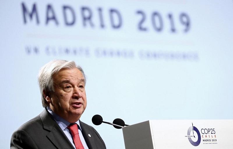 Exhorta Guterres a mayor compromiso en la lucha contra el Cambio Climático