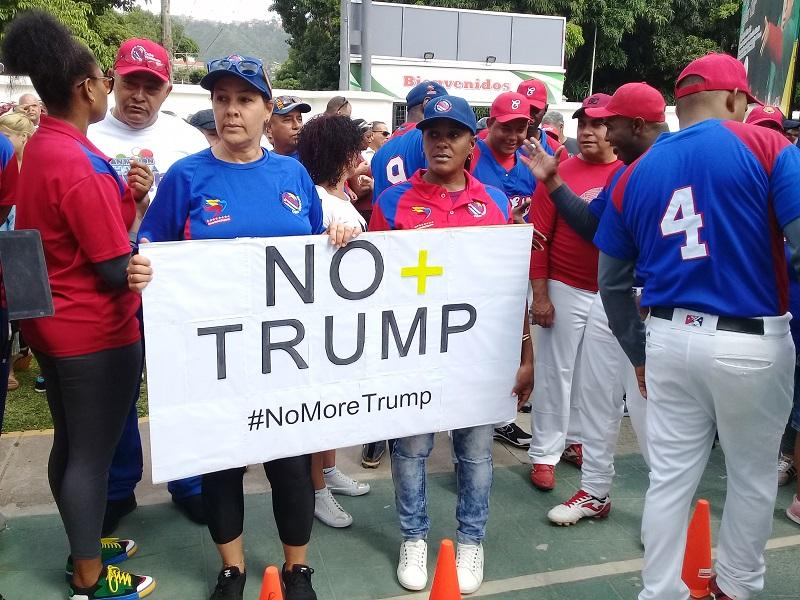 Apoyan cubanos en Caracas a la Revolución Bolivariana