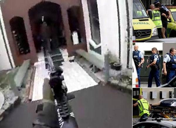 Ataques a dos mezquitas dejan unos 40 muertos en Nueva Zelanda