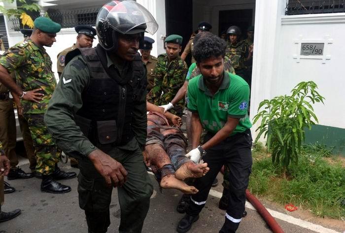 Cerca de 300 muertos en atentados en Sri Lanka