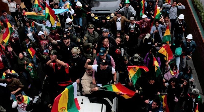 Lanza bancada parlamentaria de Evo Morales ofensiva legal y política contra el golpe de Estado