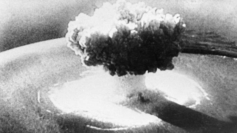 HD images of the first explosion of an atomic bomb are spread