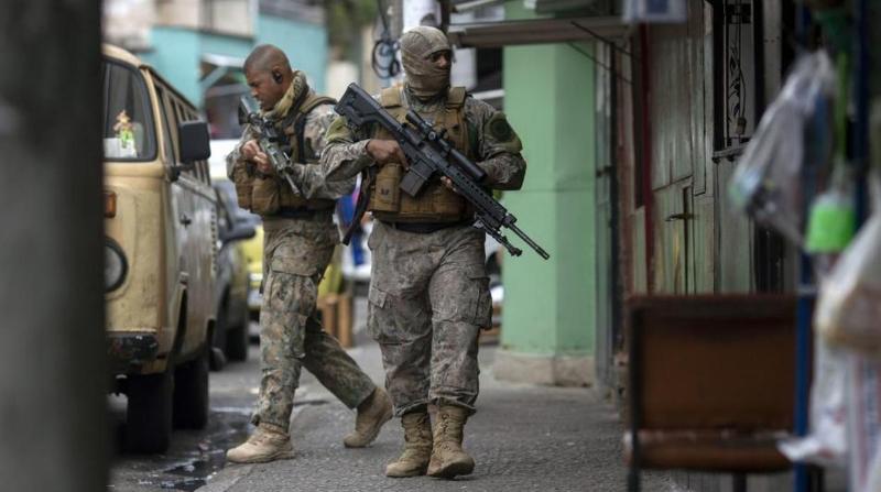 Operación policial en Brasil