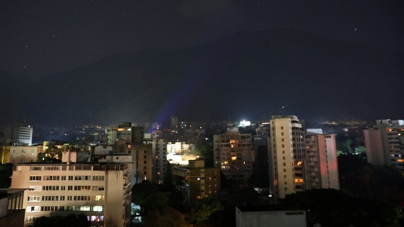 Se restablece servicio eléctrico en Caracas. Foto: globovision.com