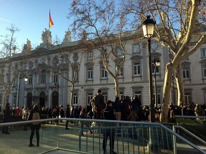 Se inicia este martes el juicio contra independentistas catalanes