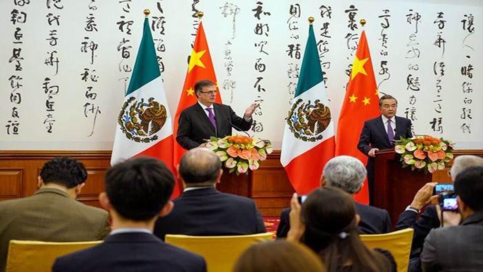 China y México condenan injerencia de Washington en Venezuela