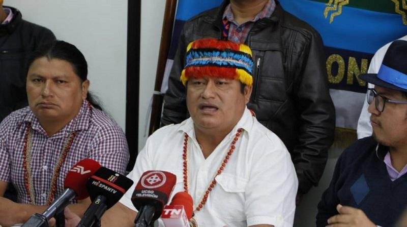 La CONAIE iniciará acciones legales contra el estado ecuatoriano