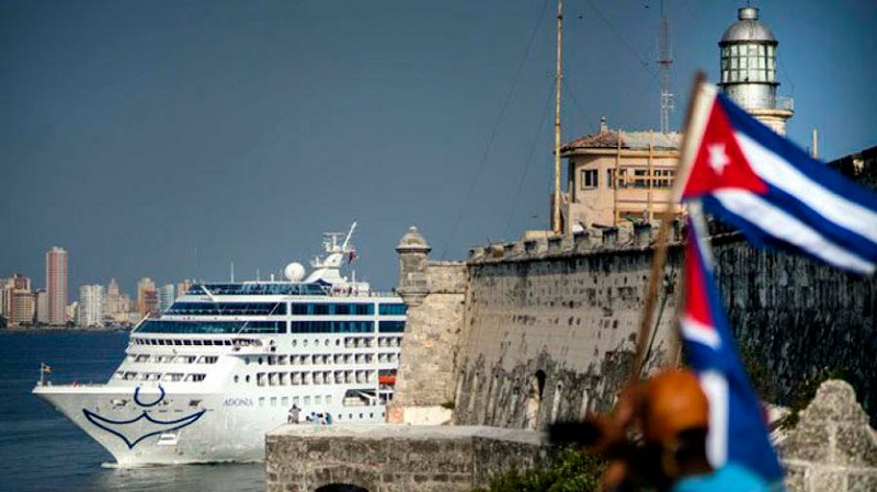 US cruise lines sued for traveling to Cuba