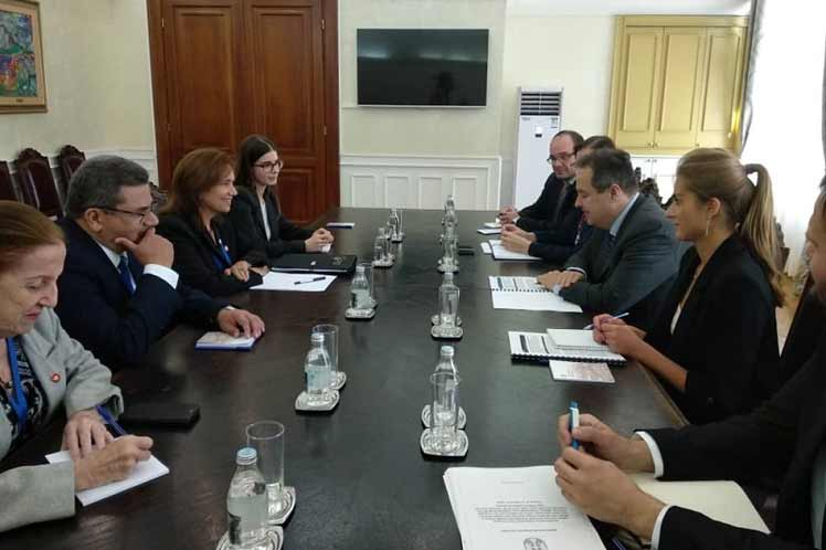 Cuba and Serbia agree on strengthening bilateral ties