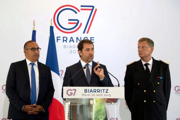 Comienza hoy en la ciudad francesa de Biarritz la cumbre del G-7