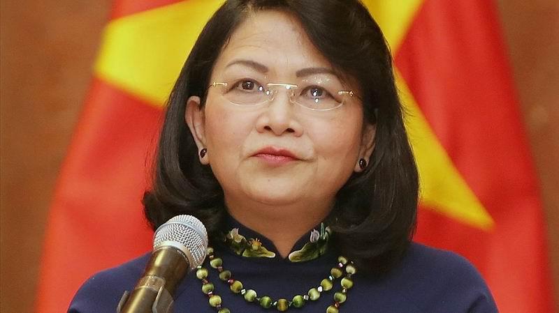 Recibieron Raúl y Díaz-Canel a la Vicepresidenta de Vietnam