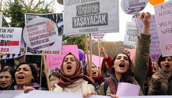 Reivindican las mujeres en todo el mundo el derecho a la igualdad