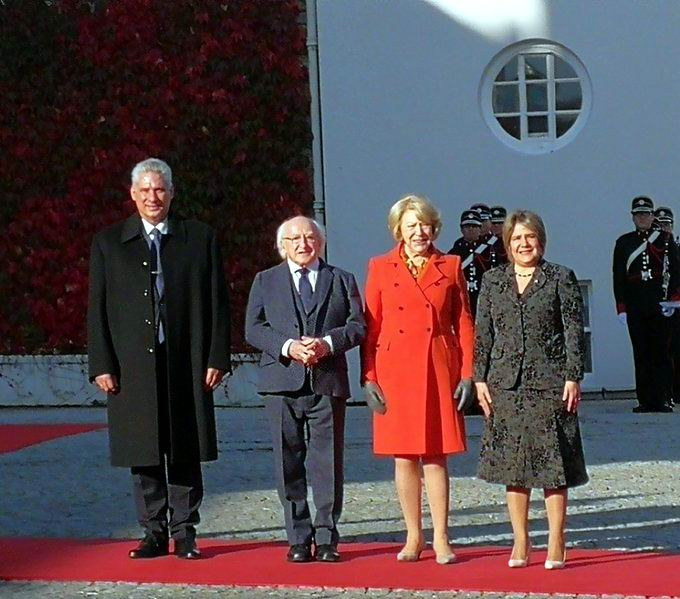 Ireland president welcomes Diaz-Canel
