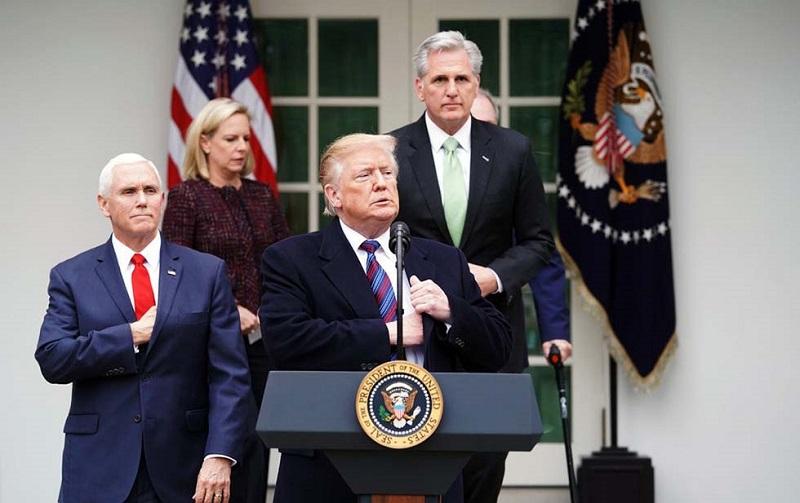 Sufre Estados Unidos el más largo cierre gubernamental de su historia