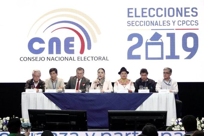 Espera Ecuador los resultados oficiales de las elecciones parciales