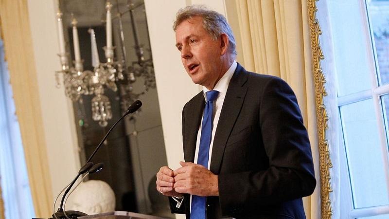 Respalda gobierno británico a su embajador en Washington