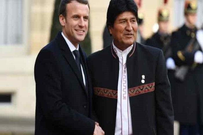 Dialogarán en la ONU Presidentes de Bolivia y Francia sobre Amazonía