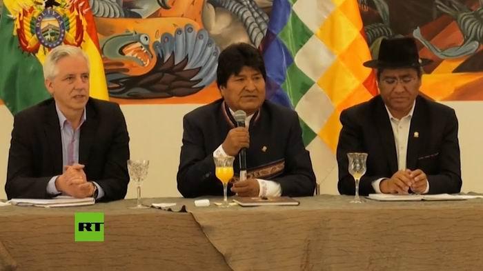 Las noticias desde Bolivia