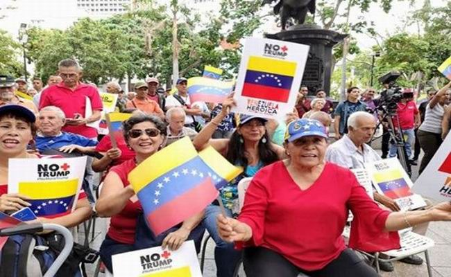 Culmina en Venezuela la campaña No More Trump