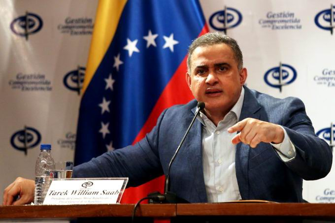 Fiscal General de Venezuela, Tarek William Saab. Foto: AVN