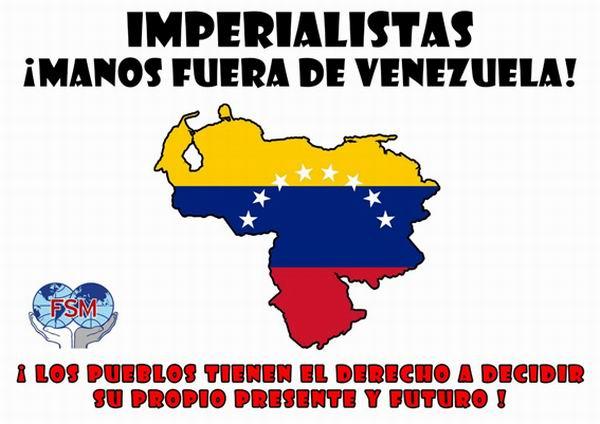 Inician campaña internacional de respaldo a Venezuela