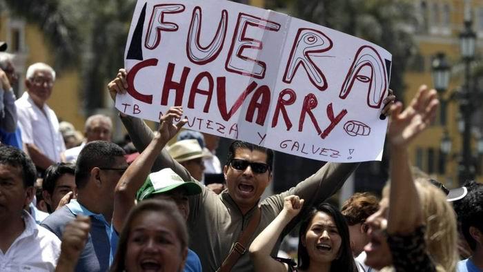 Suspenden al fiscal general de Perú