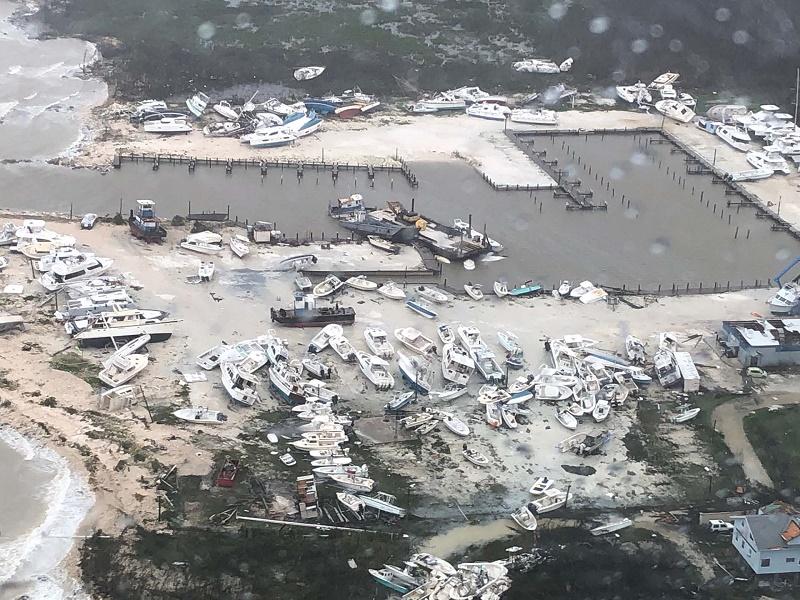 Intensifican tareas de salvamento y rescate en Bahamas