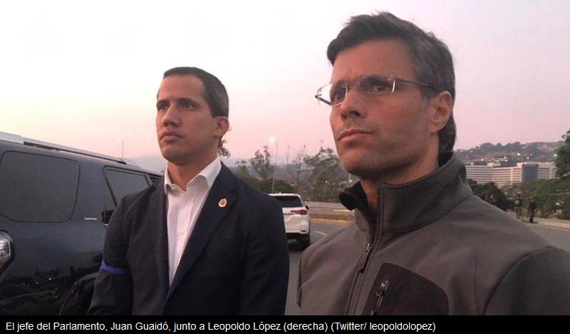 Venezuelan Opposition Leader Takes Refuge in Spanish Embassy