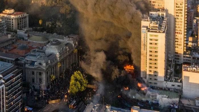 Nueva manifestación en Chile